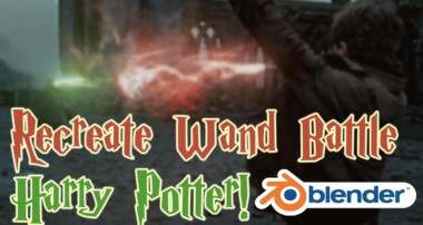 Recreate the Wand Battle from Harry Potter! – Blender VFX Tutorial!