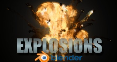 Create Realistic  Explosions! – Blender Cycles Tutorial