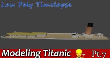 Blender Titanic Modeling Tutorial Pt 7