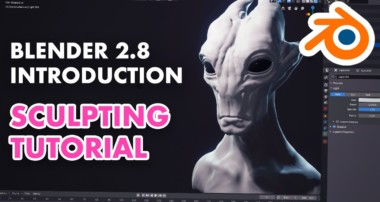 Introduction to Sculpting in Blender 2.8 – Sculpting Essentials