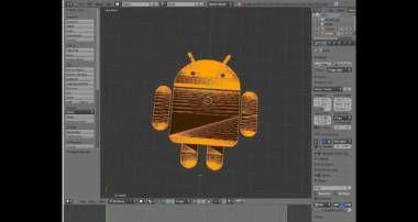 Blender Tutorial: Create a 3D mesh from a .jpg
