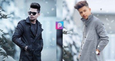 PicsArt Riyaz. 14 Winter Realistic Photo Editing Tutorial in PicsArt Step by Step in Hindi