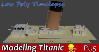Blender Titanic Modeling Tutorial pt.5