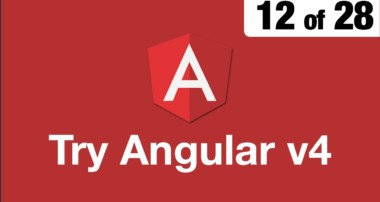 Try Angular v4 // 12 of 28 // Bootstrap for Angular // ngx bootstrap