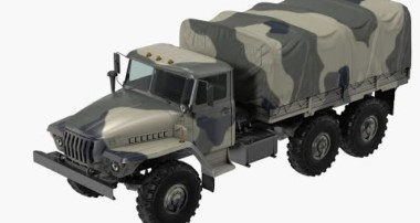 blender 3D modeling tutorial part 7 ural Truck (Blender 2.8)