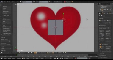 Blender – 3D Heart Modeling