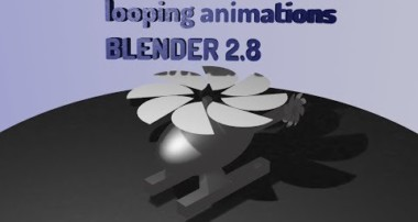 HOW TO EASILY LOOP ANIMATIONS BASIC TUTORIAL | BLENDER 2.8