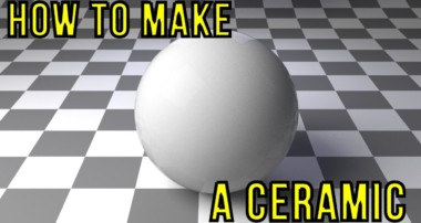 How to make a Ceramic material (Blender, Cycles)
