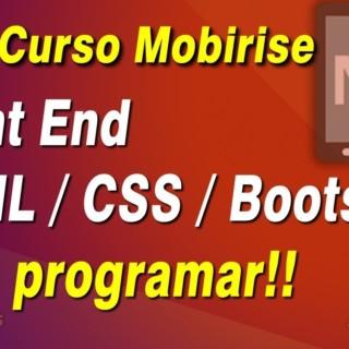 Curso básico de Mobirise – Criando template HTML CSS BOOTSTRAP sem programar