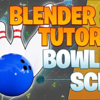 Modeling a bowling scene – Blender 2.8 Tutorial