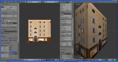 Blender 3D – проекция фото на 3D объект