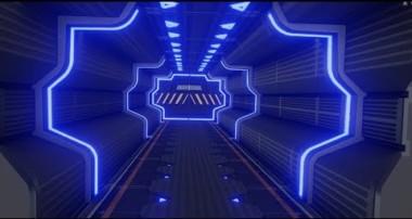 modeling a sci fi corridor in blender 2.8