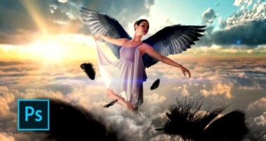 How to Make a Fantasy Photo Manipulation – Angels fly –  Photoshop manipulation tutorials