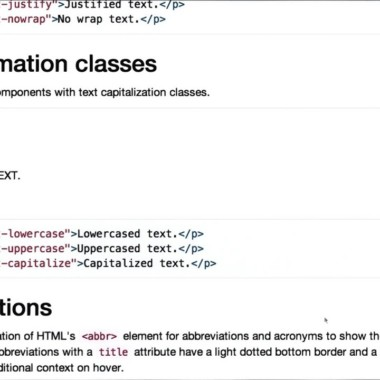Intro to HTML and CSS – Using Bootstrap Typography