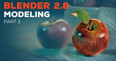Blender 2.8 Beginner Tutorial – Part 3: Organic Modeling