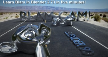 Blender 2.73 Blam Camera Mapping Tutorial.  Five minutes!