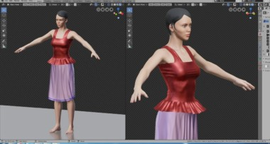Modeling Cloth Clothing Tutorial with Blender