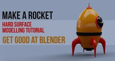 Build a Rocket | Get Good @ Blender | hard surface techniques | 2019