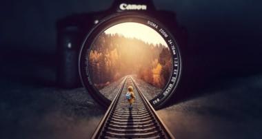 Rails Inside Illution Photo Manipulation Photoshop Tutorial