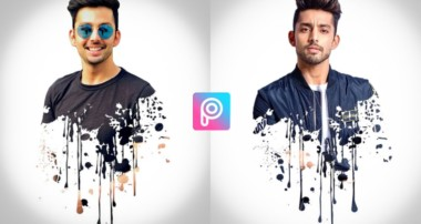 PicsArt Splatter Effect | PicsArt Editing Tutorial | PicsArt Photo Editing