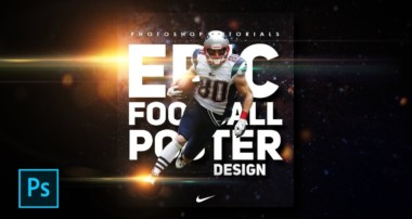 How to Create Sports / Football Poster Design in Photoshop – Photoshop Tutorials