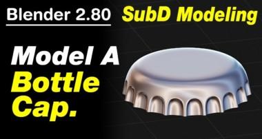 Blender 2 80 Tutorial Model A Bottle Cap.