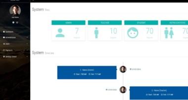 Plantilla web GRATIS para sistemas de ADMINISTRACION DE COLEGIO (HTML, CSS, BOOTSTRAP)