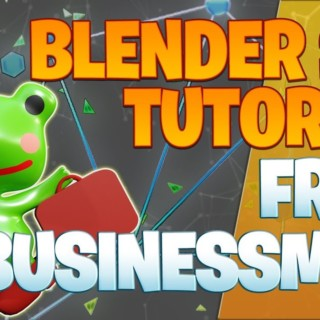Modeling a frog businessman – Blender 2.8 Tutorial