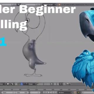 Parrot Blender Beginner Modelling Tutorial – Part 1