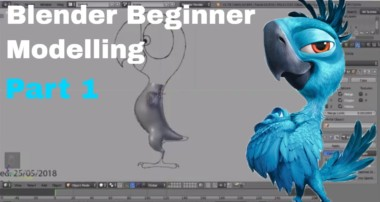 Parrot Blender Beginner Modelling Tutorial – Part 1
