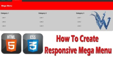 How To Create Responsive Mega Menu In HTML And CSS | Bootstrap Mega Menu By Amazing Techno Tutorials