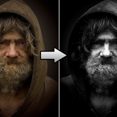 Photoshop CS6: How To Intensify Black and White Images & Make Them Pop