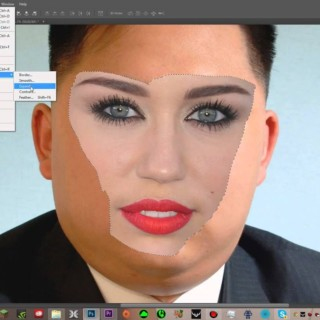 How to Blend Two Faces in Adobe Photoshop Cs6