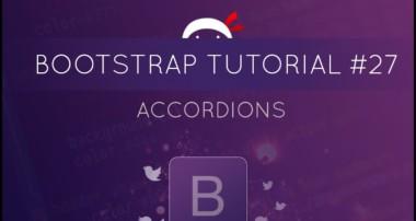 Bootstrap Tutorial #27 – Accordions