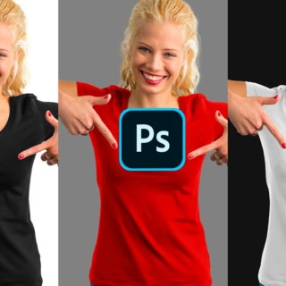 Best Way To Turn BLACK Into ANY COLOR in Photoshop [Including White!]