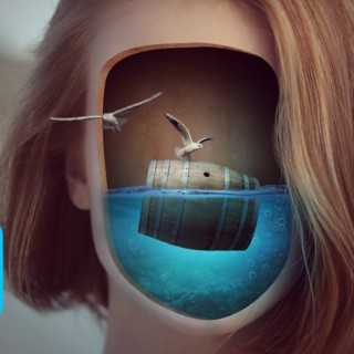 Surreal Face Underwater Photo Manipulation Photoshop Tutorial