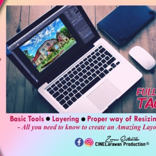 Basic Adobe Photoshop Tutorials – TAGALOG Full Guide