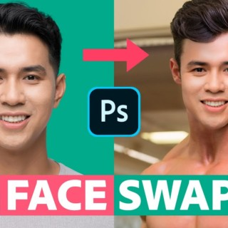 Swap Faces In Photoshop (FAST & EASY!)