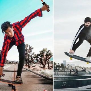 Skateboard Jump Photo Editing Tutorial In Photoshop | Step By Step || Khan Editz