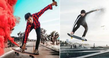 Skateboard Jump Photo Editing Tutorial In Photoshop | Step By Step || Khan Editz