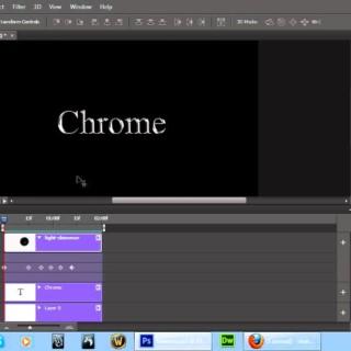 Adobe Photoshop CS6 Timeline Animation Project – Shimmering Light