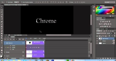 Adobe Photoshop CS6 Timeline Animation Project – Shimmering Light