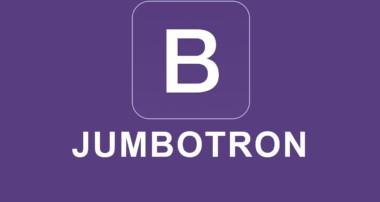 Bootstrap 4 Tutorial 18 – Jumbotron
