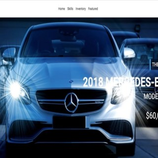 Responsive Car Dealership Website With Bootstrap 4 and ES6