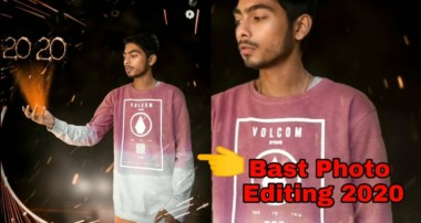 2020 Photo Editing Tutorial Video Step By Step Hindi-2020 | Happy New Year   Bast Photo Editing-2020