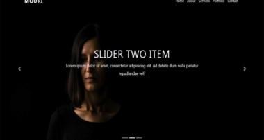 Bootstrap 4 Navbar with Slider | Tutorial for Beginners