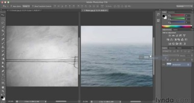 Exploring the basics of layers | Photoshop CS6 | lynda.com
