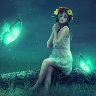 How to Glowing Effect Fantasy Photo Manipulation Photoshop Tutorial
