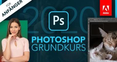 Adobe Photoshop 2020 (Grundkurs für Anfänger) Deutsch (Tutorial)