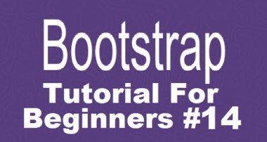 Bootstrap Tutorial For Beginners 14 – Adding Glyphicons in Bootstrap